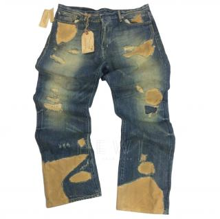 Denim & Supply Denim & Canvas Distressed Jeans