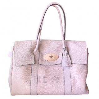 Mulberry Pebbled Leather Bayswater Tote