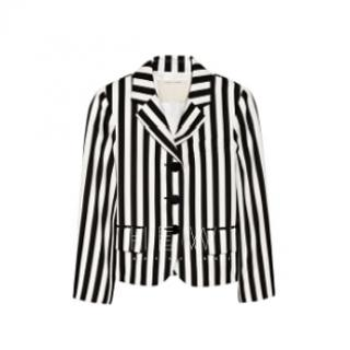 Marc Jacobs Striped Twill Blazer