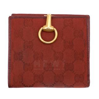 Gucci GG Monogram Bi-Fold Wallet
