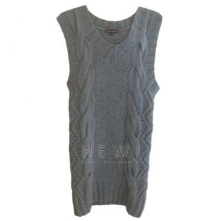 Thomas Griffith Grey Cable Knit Dress