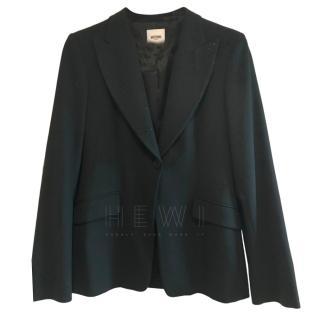 Moschino Crystal Embellished Tailored Jacket