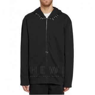 Helmut Lang Re-Edition Stud Collar Hoodie