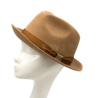 Bates Senna Brown Sinatra Trilby Hat