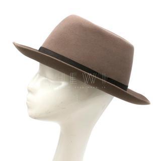 Lock & Co Hatters Expresso Brown Rabbit Fur Hat