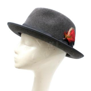 Laird & Co Hatters Waterproof Wool Iron Fedora