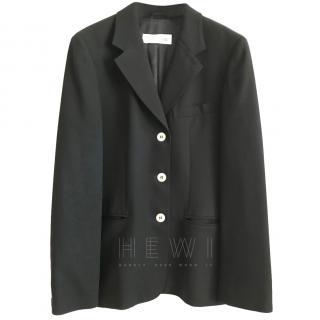 MaxMara Black Single Breasted Jacket