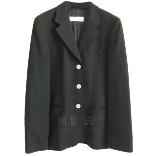 MaxMara Dark Navy Single Breasted Jacket