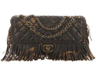 Chanel Paris-Dallas Fringe Flap Bag