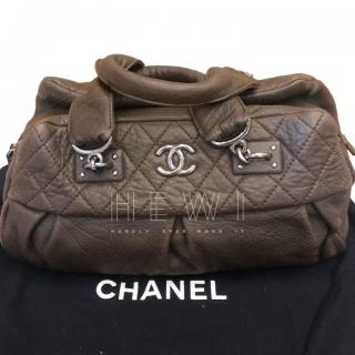 Chanel Quilted Aged Leather Doctor Bag