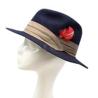Christys' Madison Navy Fedora