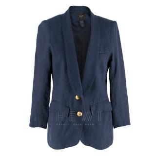 Smythe navy blue single breasted blazer