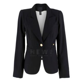 Smythe Classic Duchess Jacket in Black