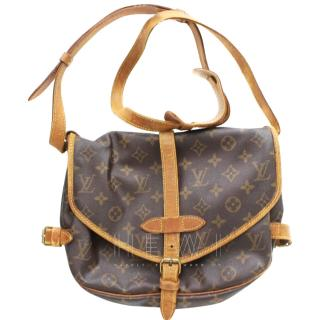 Louis Vuitton Saumur 30 Monogram Shoulder Bag