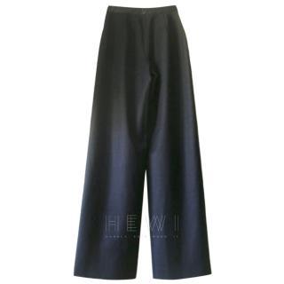 Paule Ka Charcoal Wide Leg Pants