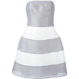 Armani Collezioni mini corset strapless dress