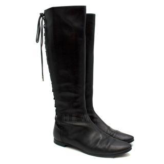 Sigerson Morrison Black leather Lace-up Boots