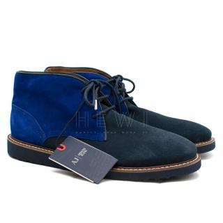 Armani Jeans Suede Ankle Chukka Boots