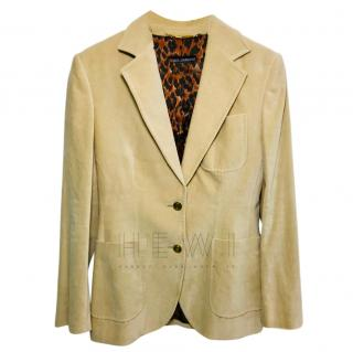 Dolce & Gabbana Beige Tailored Jacket