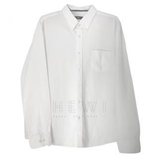 Hugo Boss White Men's Tailored Shirt