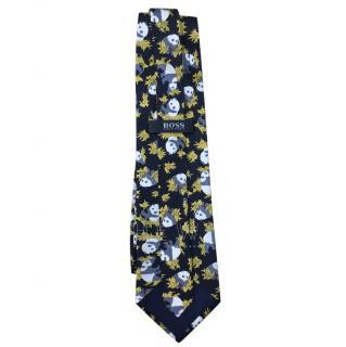 Hugo Boss Silk Panda Tie