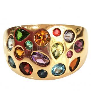 Bespoke Yellow Gold Gemstone Ring