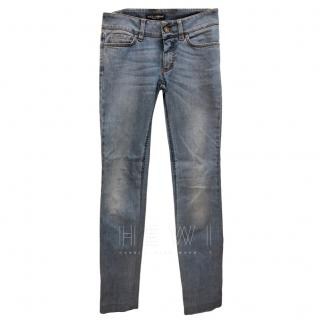 Dolce & Gabbana Washed Jeans
