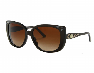 Bvlgari 8090b Cocoa Gradient Lens Embellished Sunglasses