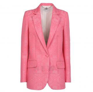 Stella McCartney Pink Jacquard Frazier Jacket