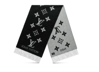 Louis Vuitton Cashmere Reykjavik Scarf