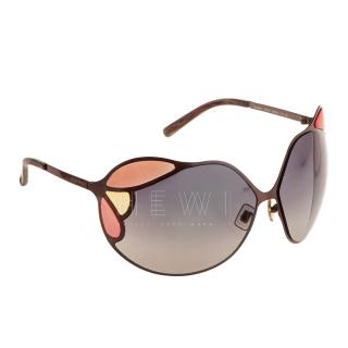 Miu Miu Archivel Butterfly Sunglasses