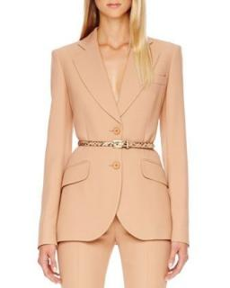 Michael Kors Collection Suntan Tailored Blazer