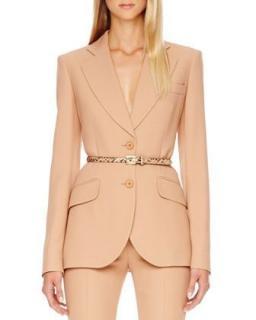 Michael Kors Collection Suntan Tailored Blazer