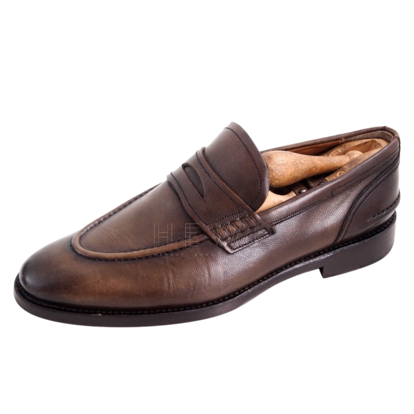 Bally men's scribe penny loafers