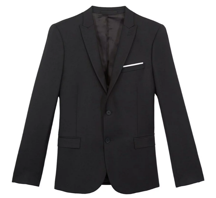 The Kooples Black Wool Jacket