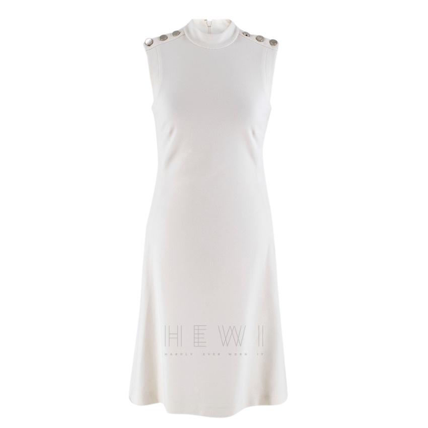 Gucci high neck sleeveless dress