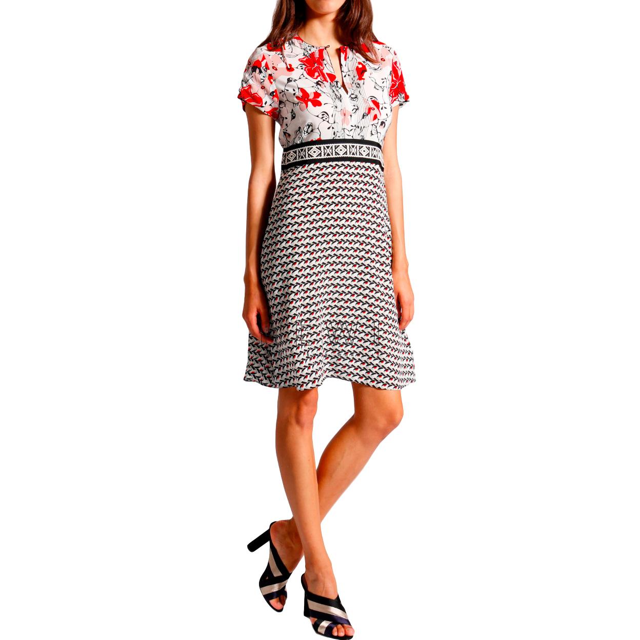 Dorothee Schumacher Multi-Print A-line Dress