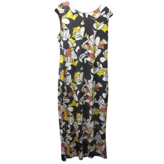 Issa Abstract-Print Dress