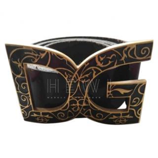 Dolce & Gabbana Logo-Plaque Belt