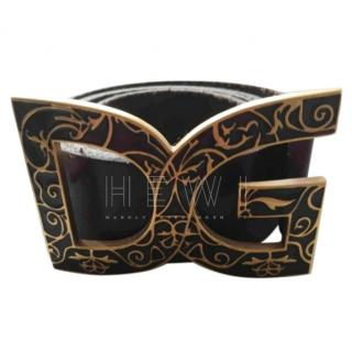 Dolce & Gabbana Logo-Plaque Belt