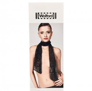 Wolford Limited Edition Black Lace Scarf