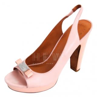Marc by Marc Jacobs Powder Pink Slingback Sandals