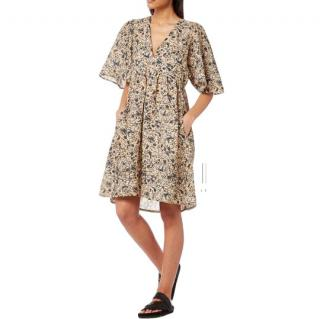 Isabel Marant talita floral printed dress