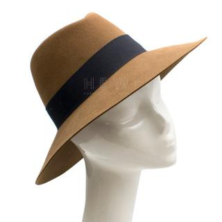 Maison Michel Brown Andre Rabbit-fur Felt Hat