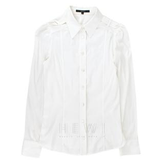 Gucci White Cotton Shirt W/ Epaulettes