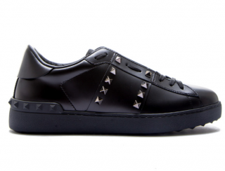 Valentino Garavani black rockstud sneakers