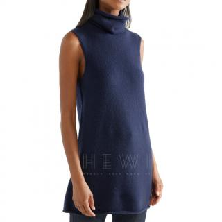 The Row Leond roll-neck cashmere and silk-blend tunic