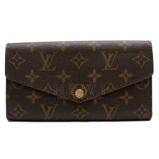 Louis Vuitton Sarah Monogram Long Wallet