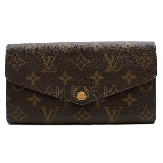 Louis Vuitton Sarah Monogram Long Wallet