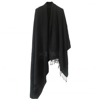 William Welstead Black Cashmere Shawl